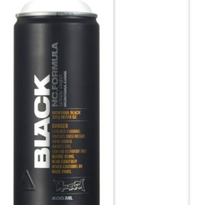 montana black 400ml White BLK9105