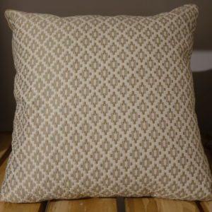 coussin motifs ethnique beige 40x40 Toulouse boutiques