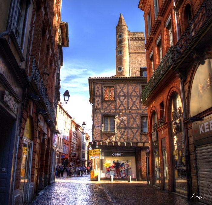Boutiques rue Saint Rome Toulouse