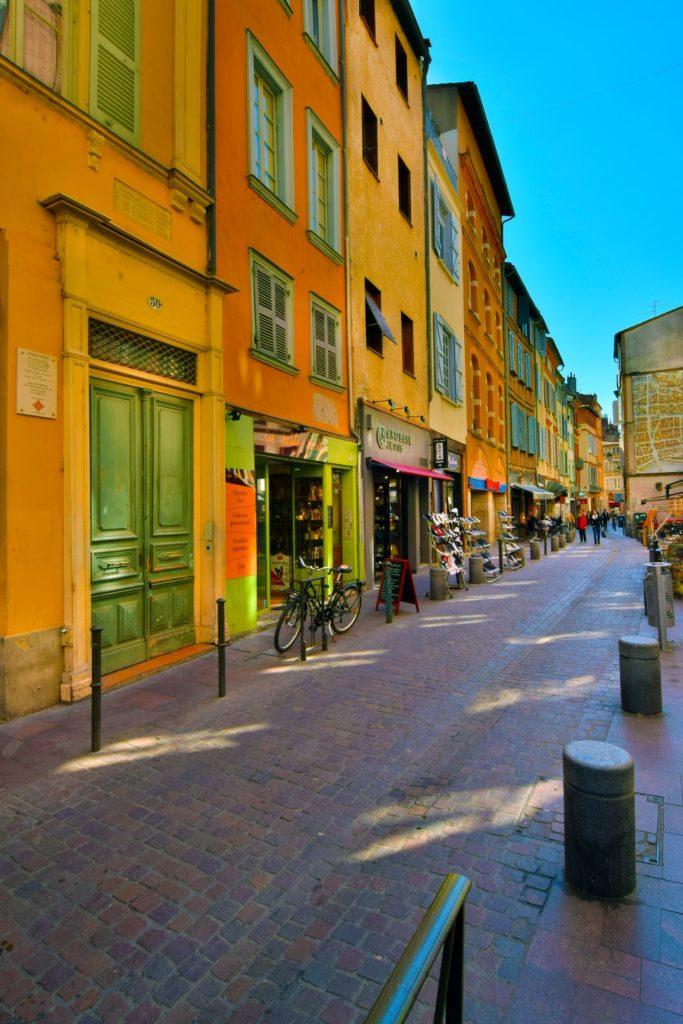 boutiques rue des Filatiers Toulouse