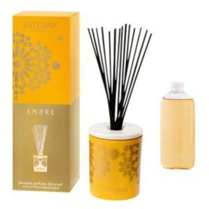 Bouquet parfumé décoratif esteban ambre