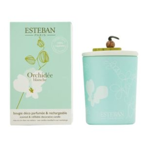 boutique esteban bougie orchidée