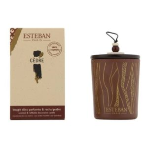 boutique esteban bougie cedre