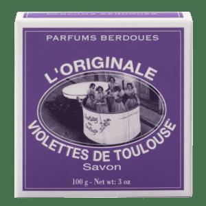 Savon à la violette de Toulouse Berdoues