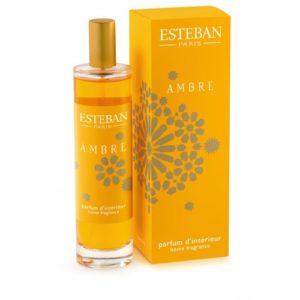 Boutique Estéban Toulouse vaporisateur spray d'ambiance ambre