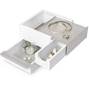 Boîte à bijoux 3 tiroirs Mini stowit 1