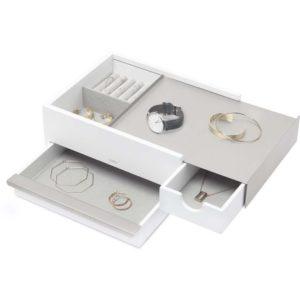 Boîte à bijoux en bois et métal Stowit 1