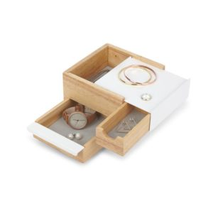 Boite à bijoux mini Stowit naturel Umbra 3