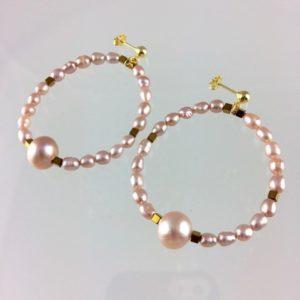 Boucles d'Oreilles P de C bijoux atelier114