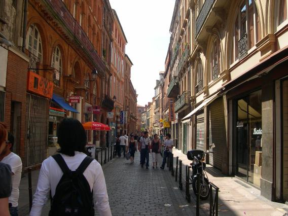 Boutiques Rue Temponieres Toulouse