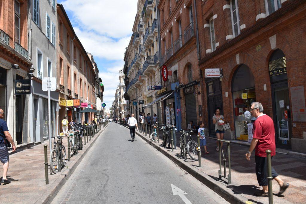 Boutiques rue de Rémusat Toulouse