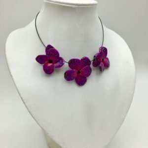 Collier violette Toulouse Boutique