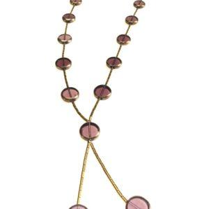Collier demi ras de cou verroterie hematite boutique bijou toulouse