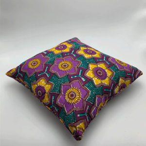 Coussin-violet-jaune-bleu boutique deco toulouse toulouseboutiques