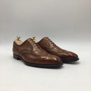 Fairford Tan Antique calf boutique chaussures Toulouse (Personnalisé)