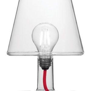 Fatboy Lampe sans fil Transloetje / LED - Ø 16 x H 25 cm Transparent