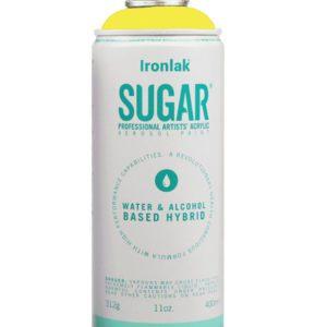 Peinture aérosol sucre sans solvant eightball ironlak lemon squash boutique art urbain toulouse