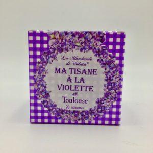 tisane à la violette boutique Toulouse