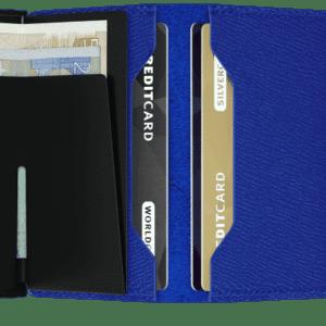 Miniwallet Crisple Blue Black toulouse boutique