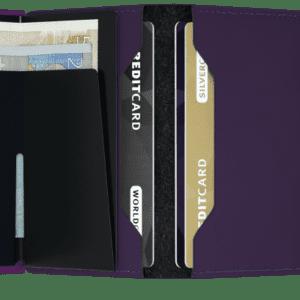 Miniwallet Matte Purple Toulouse Boutique