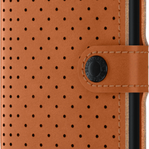 Miniwallet Perforated Cognac Toulouse Boutique