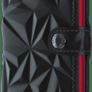 Miniwallet Prism Black-Red Toulouse Boutique