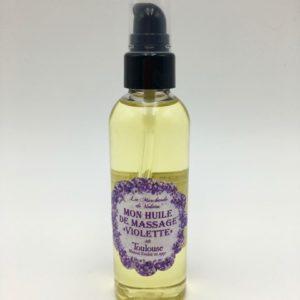 Mon huile de massage violette Toulouse Boutique