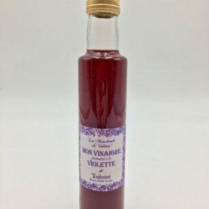 Mon vinaigre aromatisé à la violette Boutique Toulouse