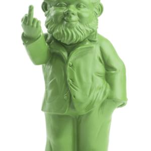 Ottmar Hörl - Nain de Jardin Doigt d'Honneur Ottmar Hörl Couleur Vert