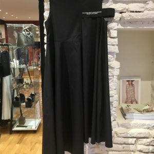 robe noir destructuree ito concept boutique vetement femme toulouse
