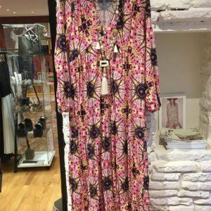 Robe-longue-semi-bohémienne-Kalifornia-Dream boutique vetement femme toulouse