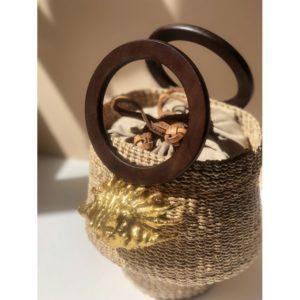 Sac seau avec coquillage kailei Aranaz Boutique Mode Toulouse