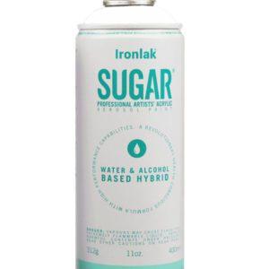 Peinture aérosol sucre sans solvant eightball ironlak vanilla boutique art urbain toulouse