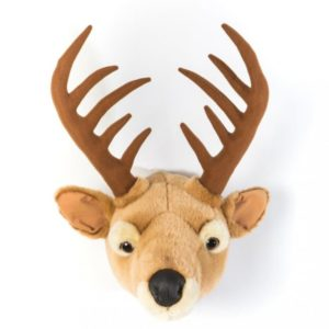 Wild & Soft Trophée peluche cerf billy toulouse design 1