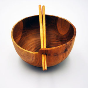 bol à riz en bois Boutiques decoration Terre Lointaine