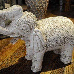 Sculpture éléphant Blanc décoration Boutique Toulouse