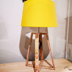 Lampe a poser Jaune Boutique decoration design Toulouse