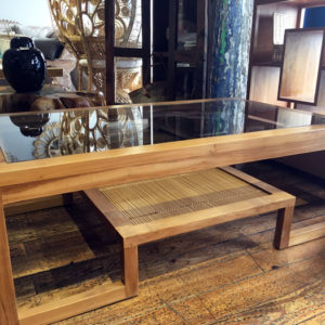 boutique-toulouse-terre-lointaine-table-basse-teck-verre