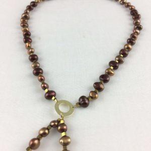 collier demi ras de cou perle culture eau douce baroque boutique bijoux toulouse