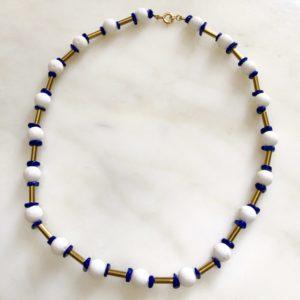 collier ras de cou corail mousse lapis lazuli hématite boutique bijoux toulouse