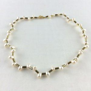 collier ras de cou zigzag doré boutique bijoux toulouse