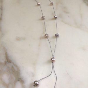 collier sautoir perle culture eau douce boutique bijoux toulouse
