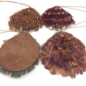 collier sautoir plume daim zirconium boutique bijou toulouse