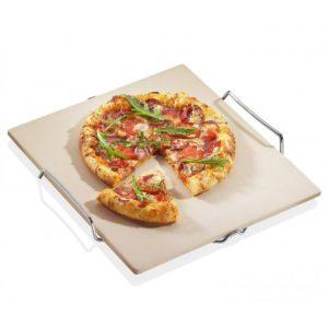 pierre a pizza rectangulaire avec support kuchenprofi Toulouse boutiques