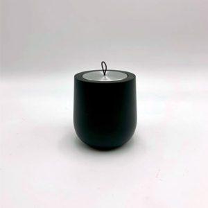 Bougie-bois-hypsoé-support-recharche-noir boutique déco toulouse toulouseboutiques
