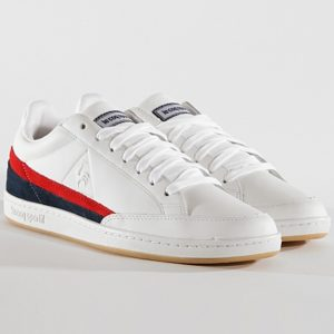 Courtclay Tricolore 1910232 : White Toulouse chaussures