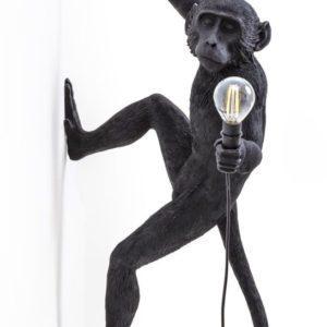 Seletti -lampe singe noir suspendu à droite Toulouse Boutiques