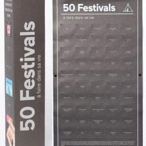 DOIY Poster 50 Festivals à Tester dans sa Vie 50 Cases à Ouvrir 1