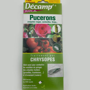 Decamp pucerons chrysopes magasin jardinerie toulouse