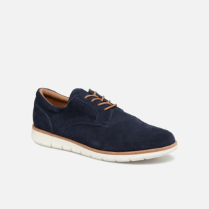 Echo Derby Suède : Navy Toulouse chaussures